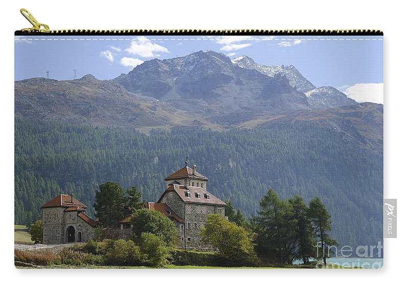 Mountains Carry-all Pouch featuring the photograph Castle Crap Da Sass by Mats Silvan