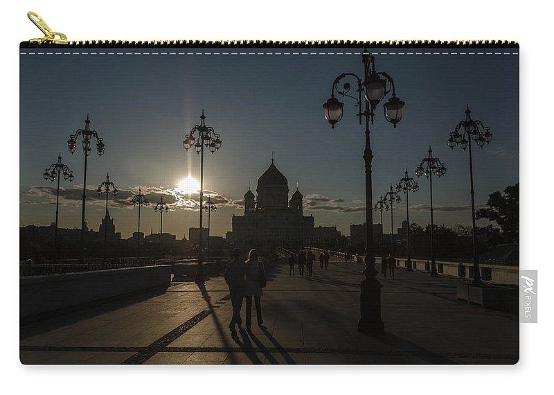 Church Carry-all Pouch featuring the photograph Cathedral Of Christ The Saviour by Michael Goyberg