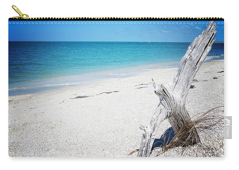 Florida Carry-all Pouch featuring the photograph Cayo Costa Serenity Vanilla Pop by Chris Andruskiewicz