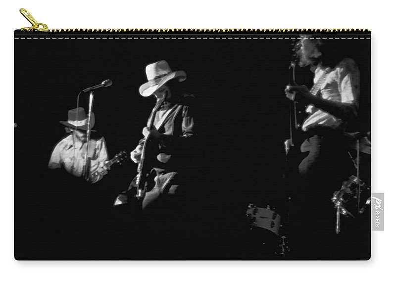 Charlie Daniels Band Carry-all Pouch featuring the photograph Cdb At Winterland 1975 by Ben Upham