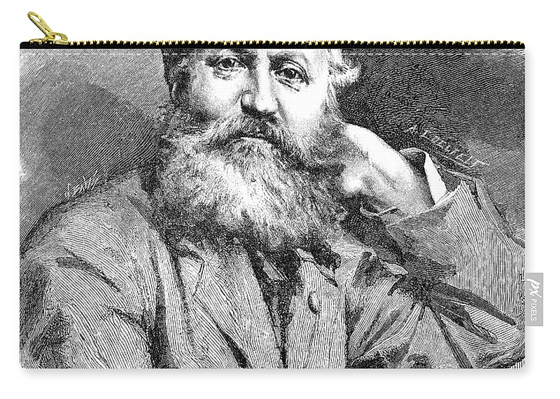 1881 Carry-all Pouch featuring the photograph Charles Francois Gounod by Granger