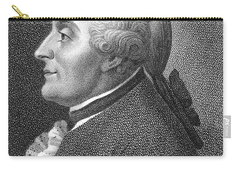 18th Century Carry-all Pouch featuring the photograph Charles M. De La Condamine by Granger