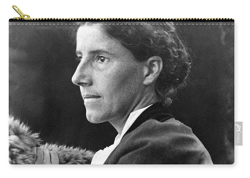 1900 Carry-all Pouch featuring the photograph Charlotte Perkins Gilman by Granger