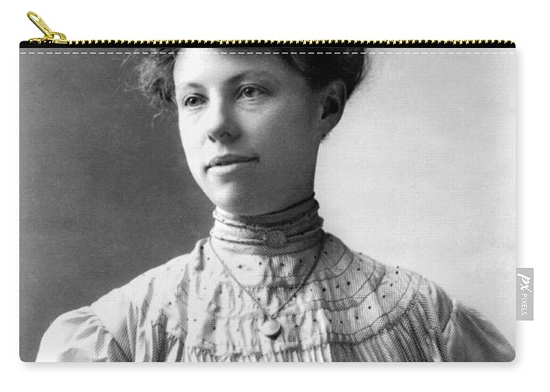 20th Century Carry-all Pouch featuring the photograph Charmian Kittredge London by Granger