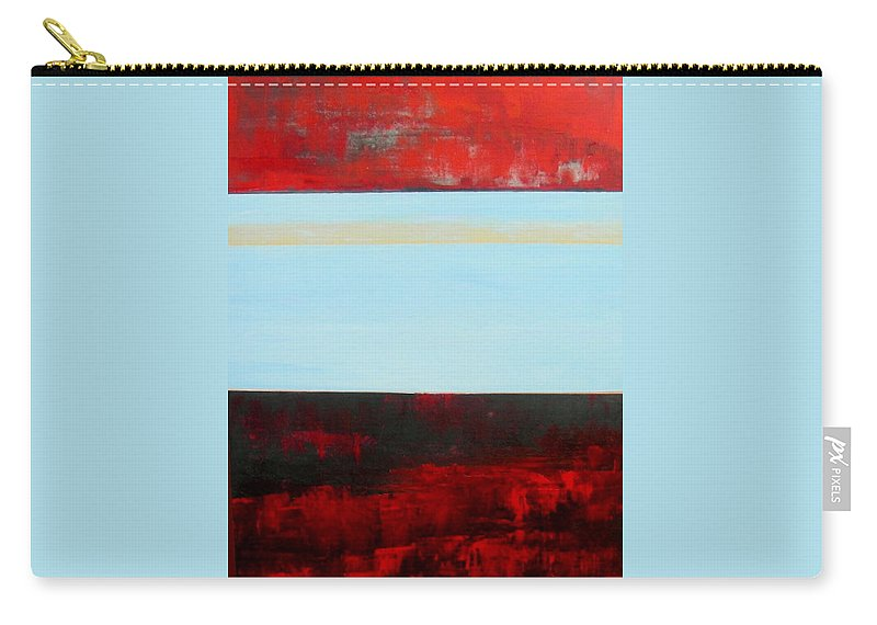 Landscape Carry-all Pouch featuring the painting Chasm by Rose Lynch