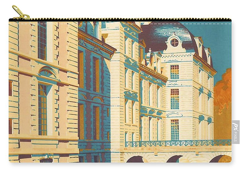 Chateau De Cheverny Carry All Pouch