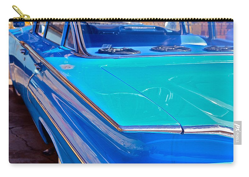 Chevy Carry-all Pouch featuring the photograph Chevy Bel Air by Bill Owen