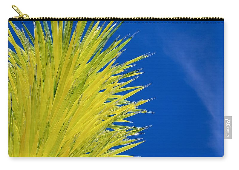 Dale Glass Tree Carry-all Pouch featuring the photograph Chihuly Glass Tree by Eric Tressler
