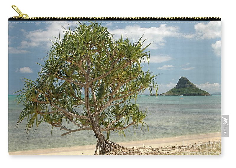 Hawaii Carry-all Pouch featuring the photograph Chinaman's Hat by Mark Gilman