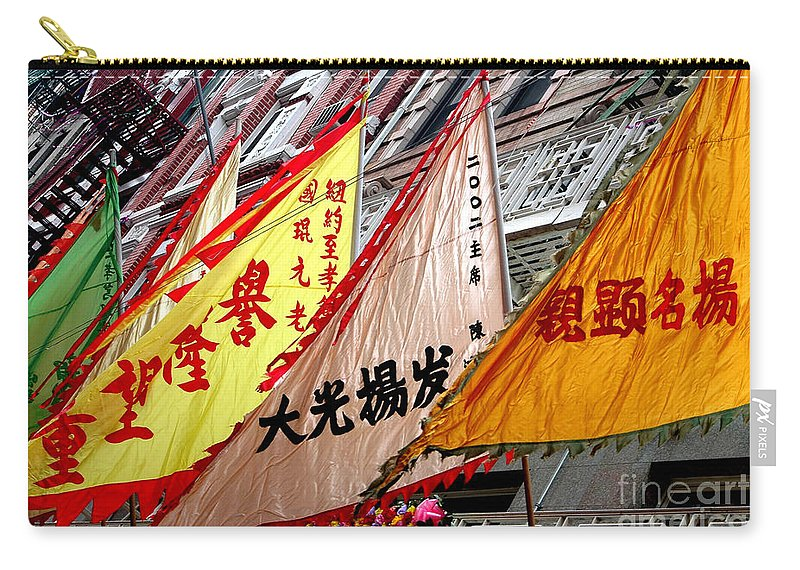 Chinese Ny Carry-all Pouch featuring the photograph Chinese New Year Nyc 4704 by Mark Gilman