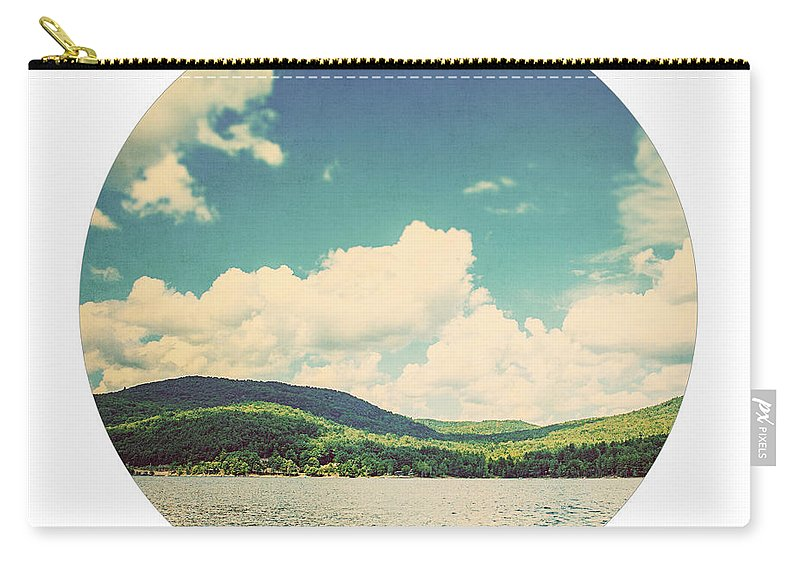 Sacandaga Lake Carry-all Pouch featuring the photograph Circle Lake by Lisa Russo