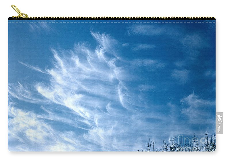 Science Carry-all Pouch featuring the photograph Cirrus Cloud by Photo Researchers, Inc.