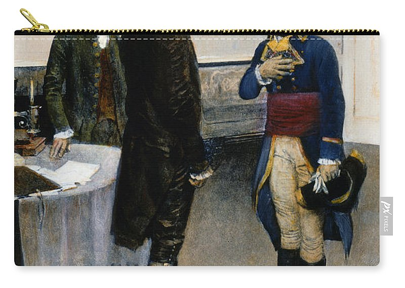 1793 Carry-all Pouch featuring the photograph Citizen Gen�t, 1793 by Granger