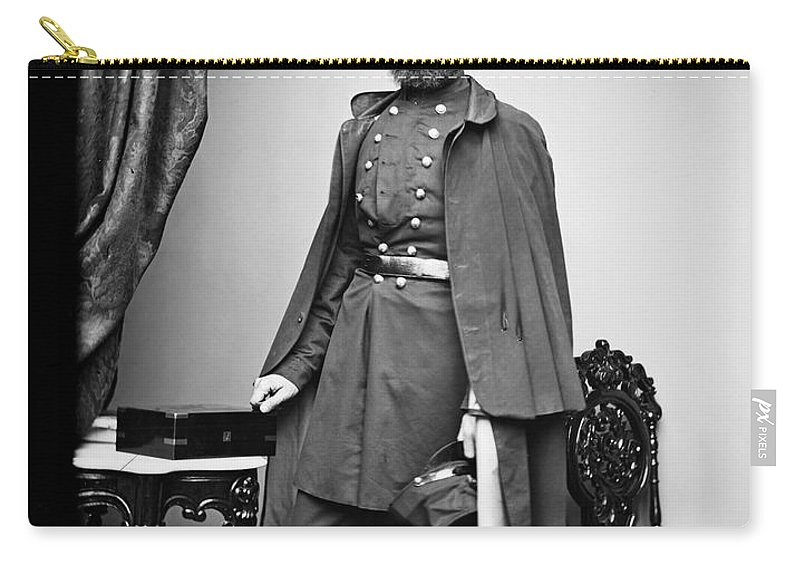 1863 Carry-all Pouch featuring the photograph Civil War: Paymaster by Granger