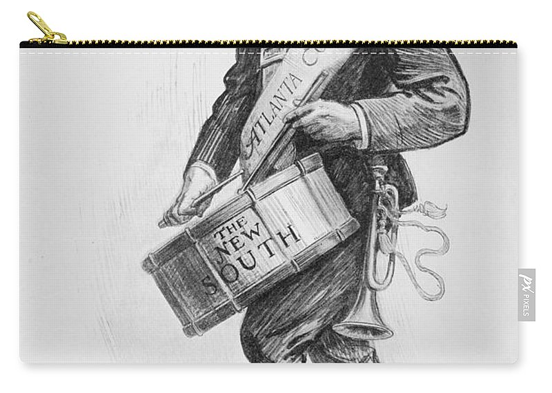 1900 Carry-all Pouch featuring the photograph Clark Howell (1863-1936) by Granger