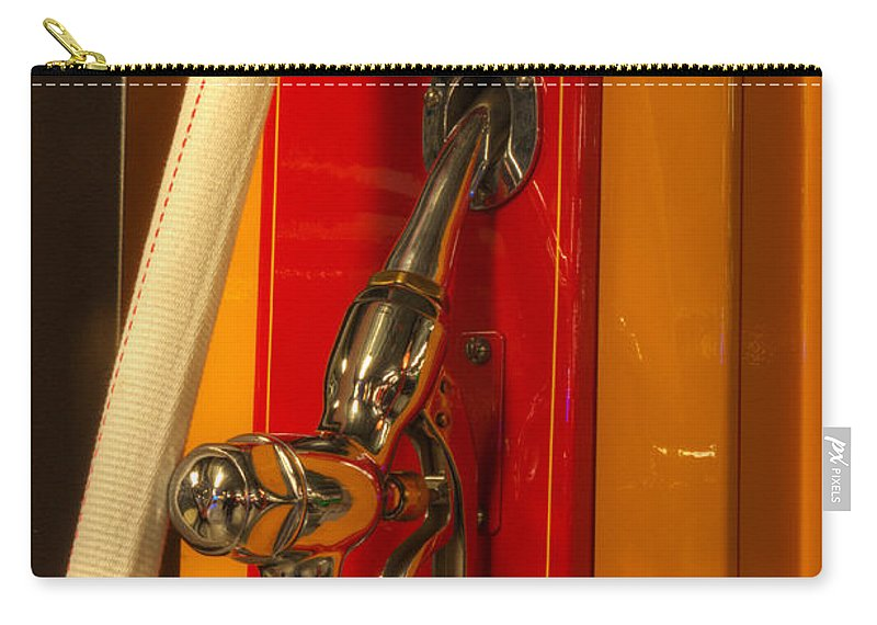 Classic Gas Pumps Carry-all Pouch featuring the photograph Classic Gas Pump by Bob Christopher