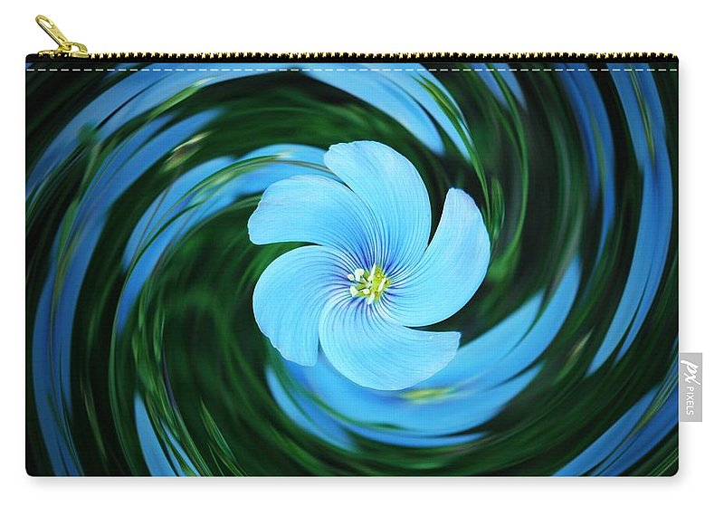 Nature Carry-all Pouch featuring the photograph Clear Blue by Chris Berry