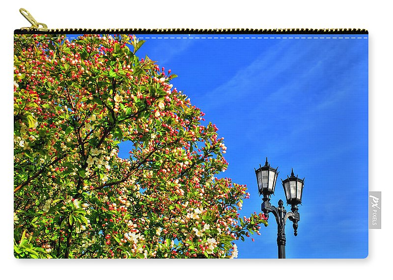 Carry-all Pouch featuring the photograph Clear Skies by Michael Frank Jr