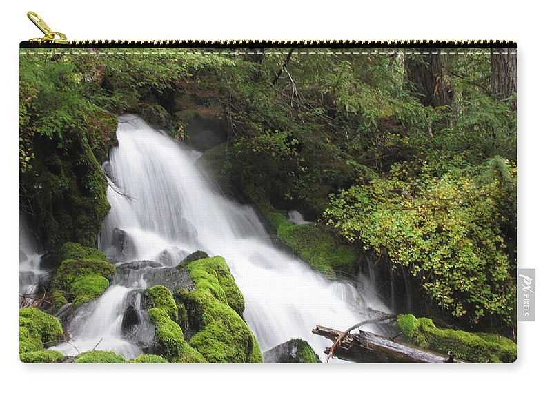 Water Carry-all Pouch featuring the photograph Clear Water by Katie Wing Vigil