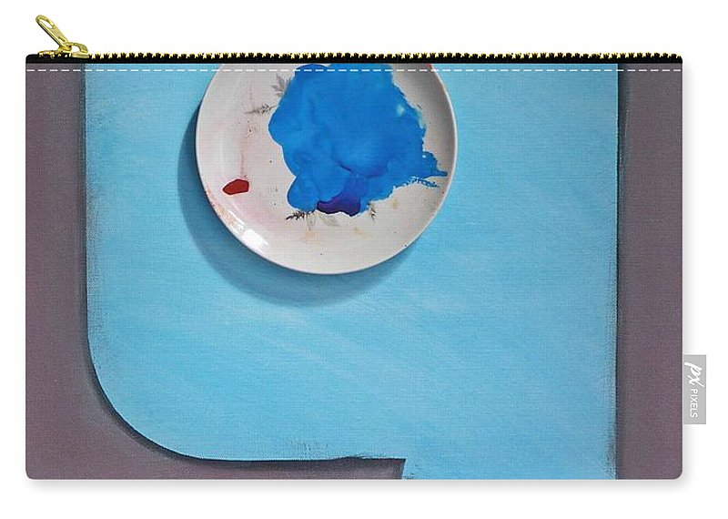 Clouds Carry-all Pouch featuring the painting Cloud by Charles Stuart
