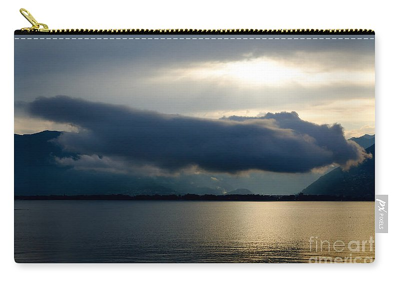 Cloud Carry-all Pouch featuring the photograph Cloud by Mats Silvan