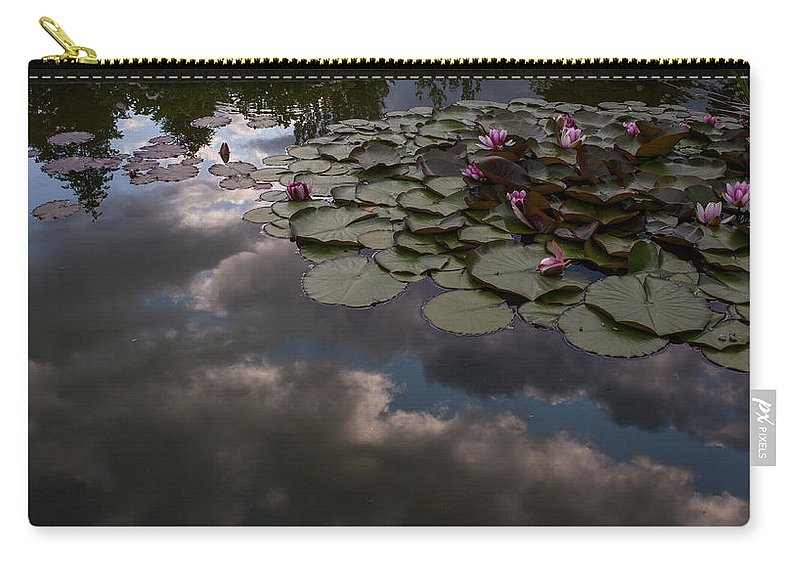 Pond Carry-all Pouch featuring the photograph Clouded Pond by Mike Reid