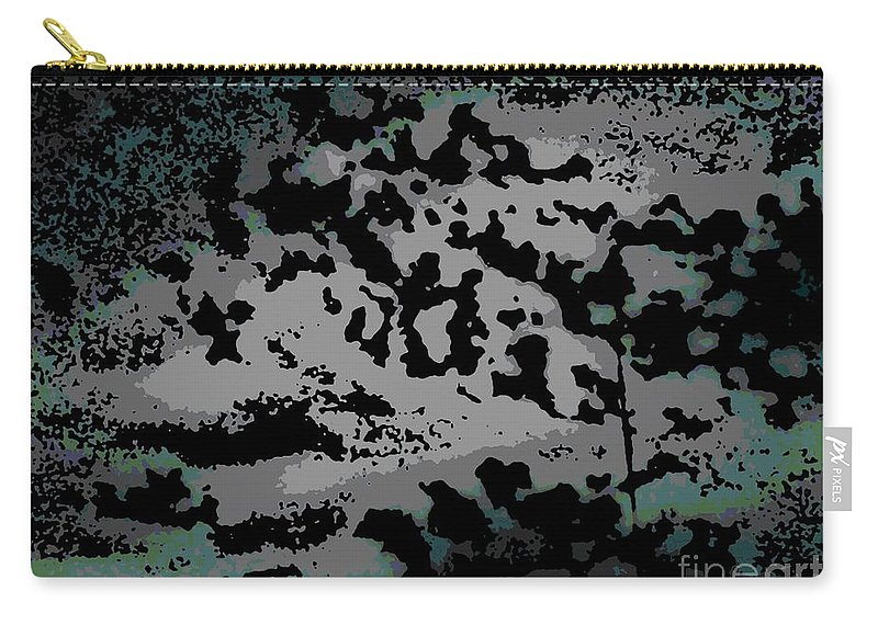 Abstract Carry-all Pouch featuring the digital art Clouded Thought by George Pedro
