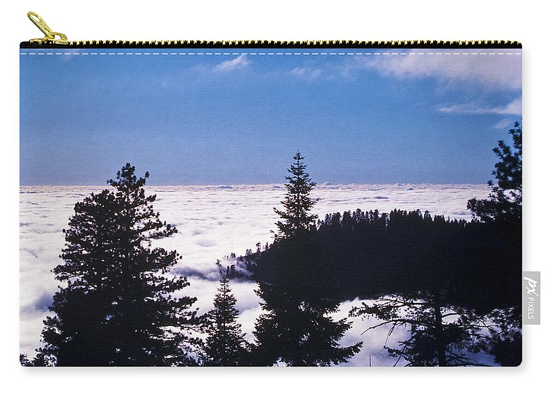 Mountains Carry-all Pouch featuring the photograph Clouds At Sequoia National Park by Stephen Whalen