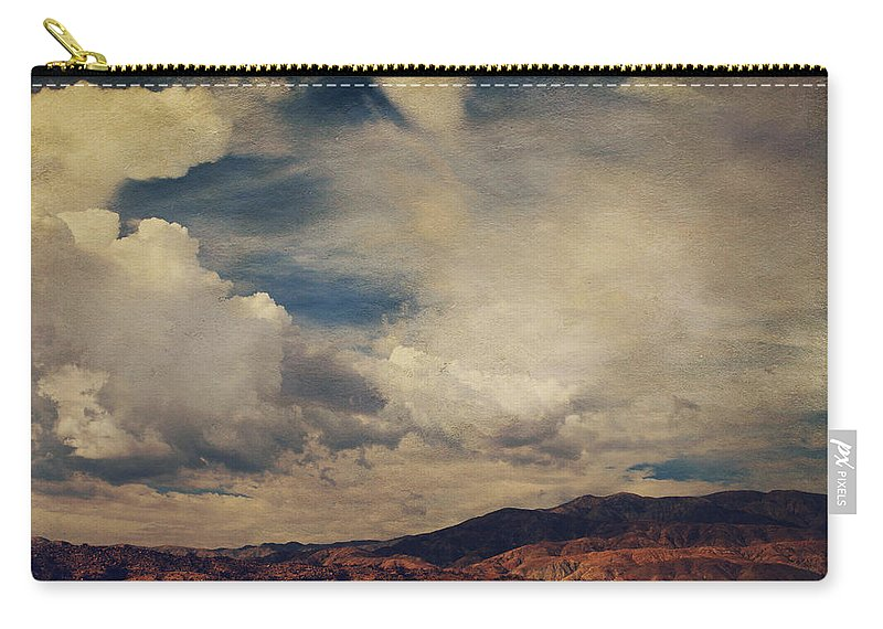 Palm Desert Carry-all Pouch featuring the photograph Clouds Please Carry Me Away by Laurie Search