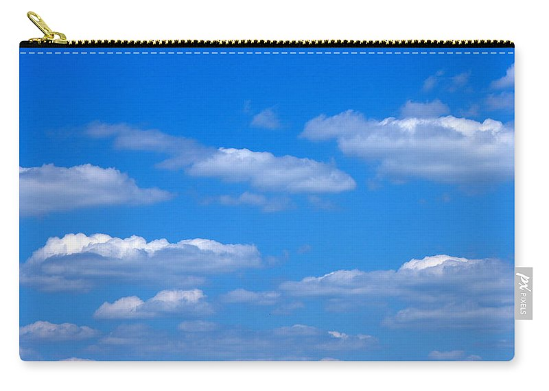 Clouds Carry-all Pouch featuring the photograph Cloudy With A Chance Of Sky by Paul Wilford