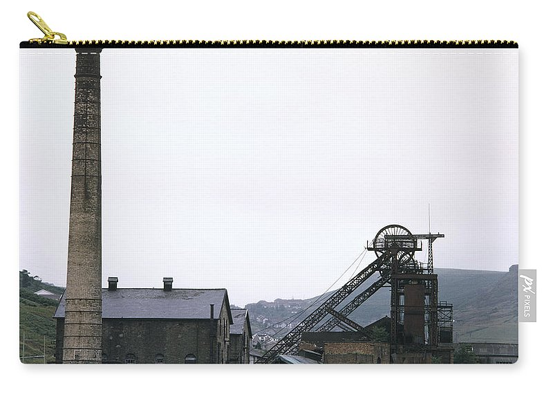 Nostalgia Carry-all Pouch featuring the photograph Coal Mine by Shaun Higson