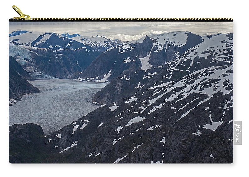 Frederick Sound Carry-all Pouch featuring the photograph Coastal Range Awakening by Mike Reid
