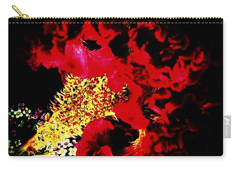 Cockscomb Carry-all Pouch featuring the photograph Cockscomb Seed Head by Chris Berry