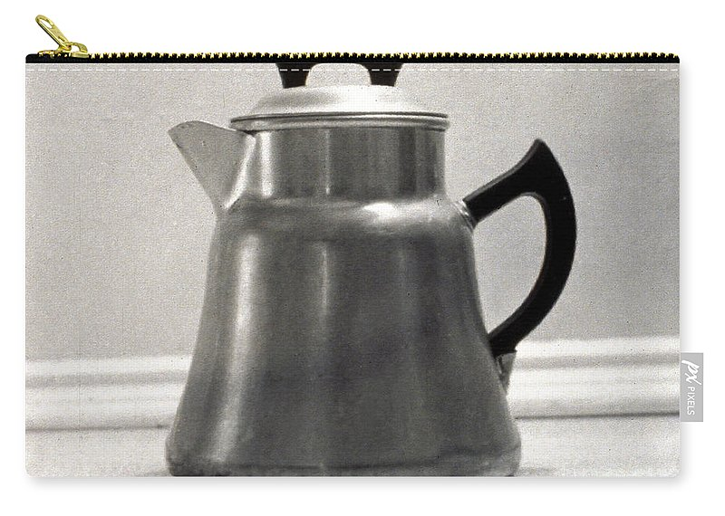 1935 Carry-all Pouch featuring the photograph Coffee Pot, 1935 by Granger