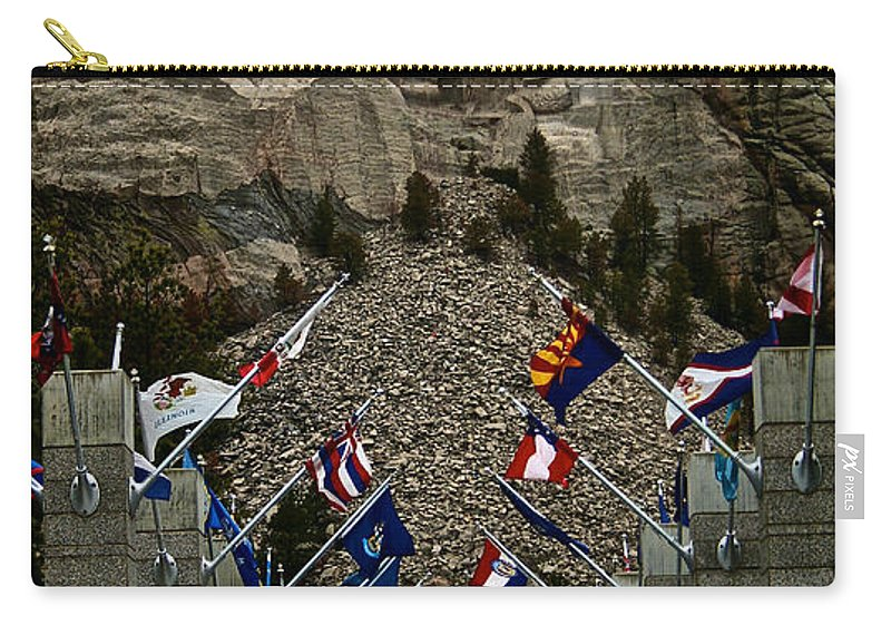 National Park Carry-all Pouch featuring the photograph Collective by Susan Herber