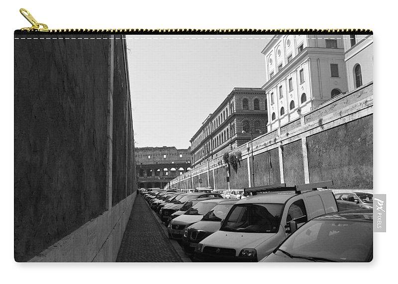 Colliseum Carry-all Pouch featuring the photograph Colliseum by Laurel Best