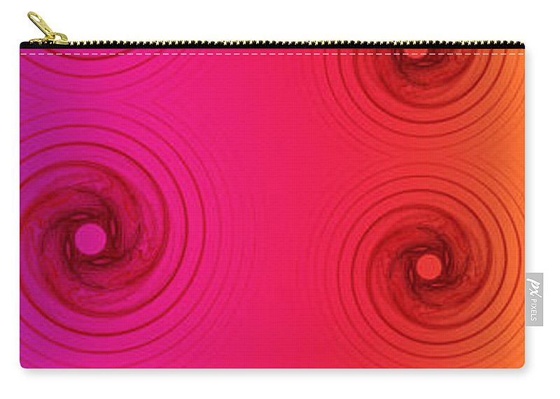 Render Carry-all Pouch featuring the digital art Color Chart One by Betsy Knapp