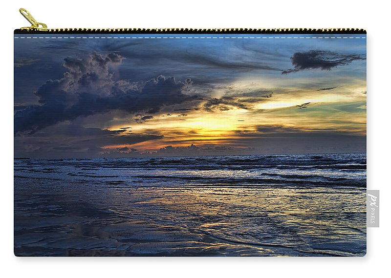 Sunset Carry-all Pouch featuring the photograph Color Of Light V3 by Douglas Barnard