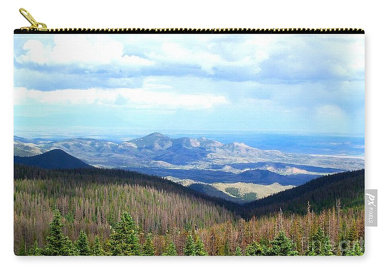 Mountain Carry-all Pouch featuring the photograph Colorado Landscape by Samantha Glaze
