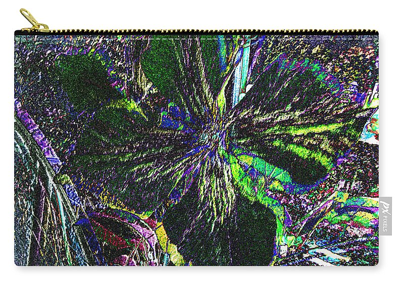 Flower Carry-all Pouch featuring the photograph Colorful by Donna Brown