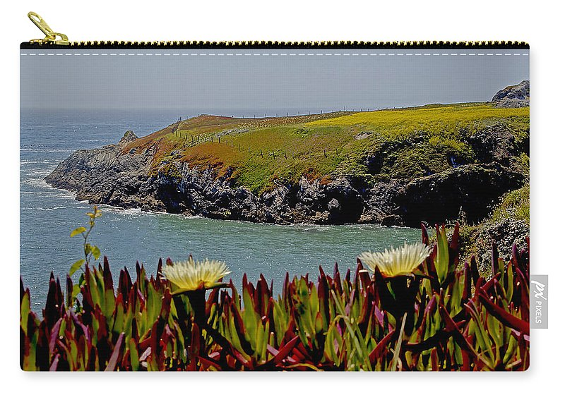 Northern California Carry-all Pouch featuring the photograph Colorful Point by Mick Anderson
