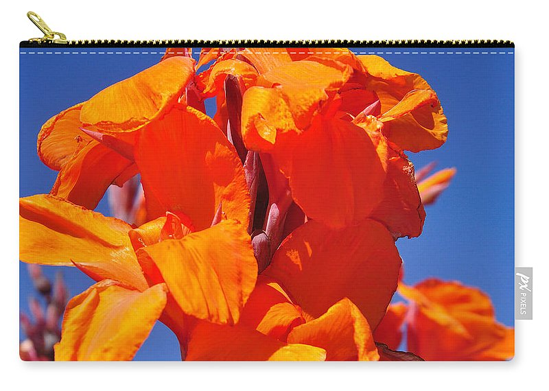 Photography Carry-all Pouch featuring the photograph Colors Of Summer by Kaye Menner