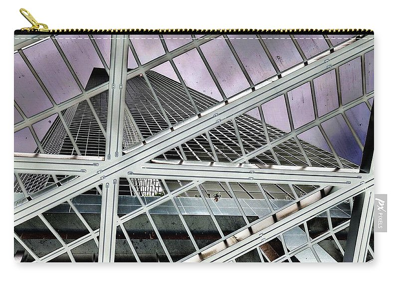 Seattle Carry-all Pouch featuring the photograph Columbia Center by Rich Bodane