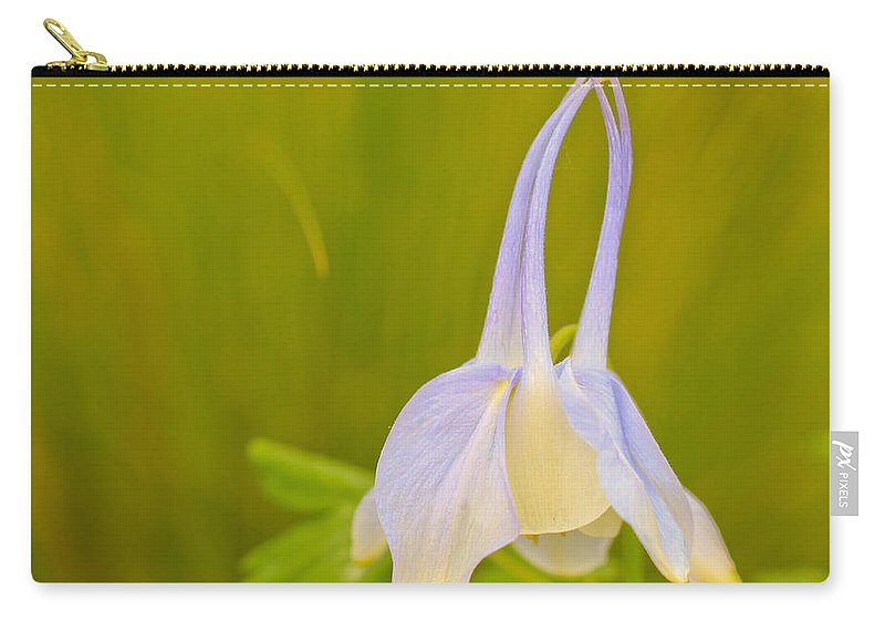 Columbine Carry-all Pouch featuring the photograph Columbine by Heidi Smith
