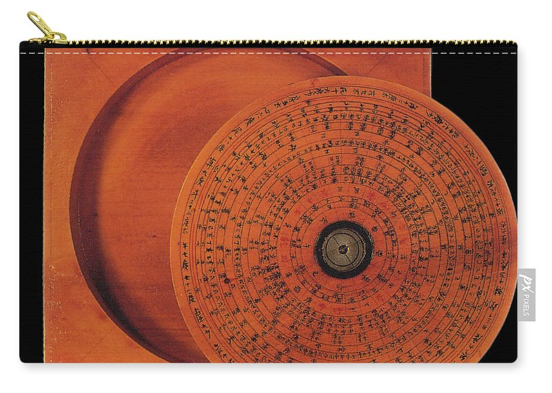 Historical Carry-all Pouch featuring the photograph Compass by Science Source