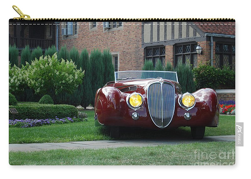 Concours D'elegance Carry-all Pouch featuring the photograph Concours D'elegance 10 by Grace Grogan