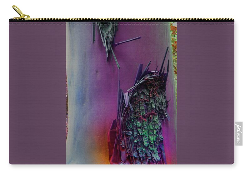 Nature Carry-all Pouch featuring the digital art Connect by Richard Laeton