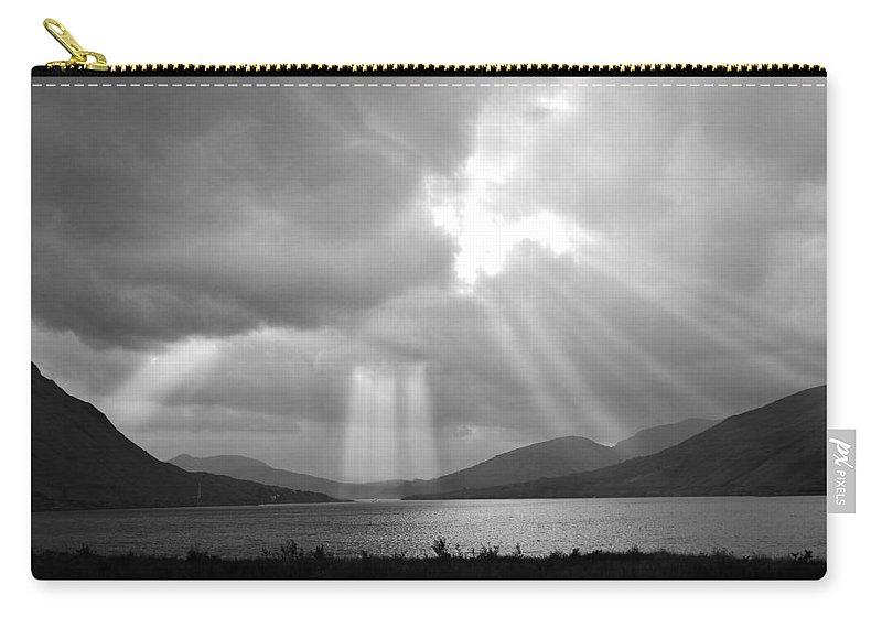 Connemara Lake Carry-all Pouch featuring the photograph Connemara Lake Ireland by Jack Daulton