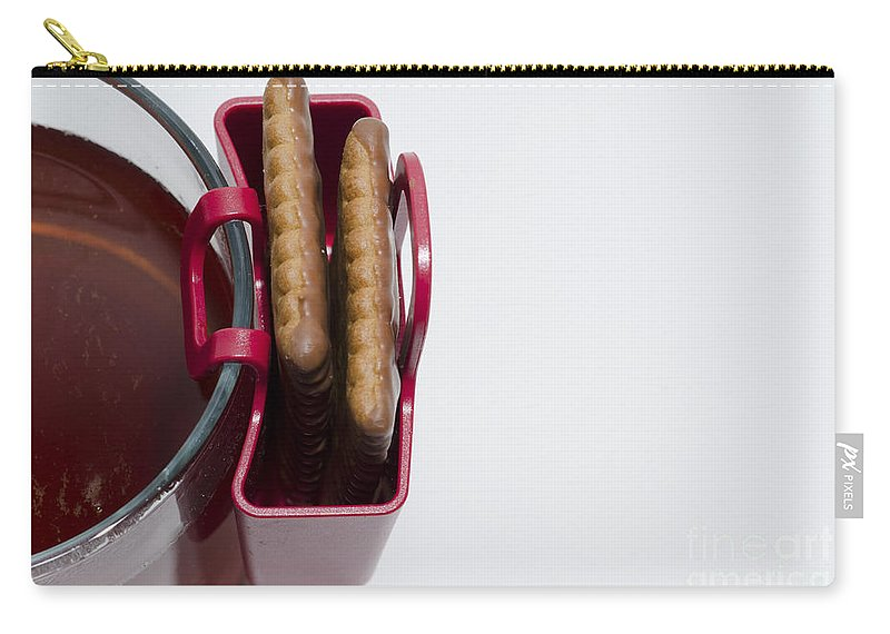Tea Cup Carry-all Pouch featuring the photograph Cookie Bag by Mats Silvan