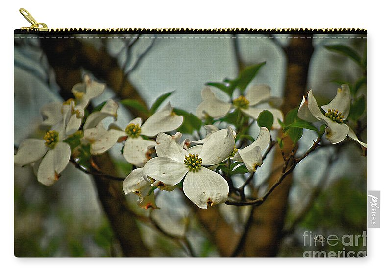 Dogwood Carry-all Pouch featuring the photograph Cool Breeze by Lois Bryan